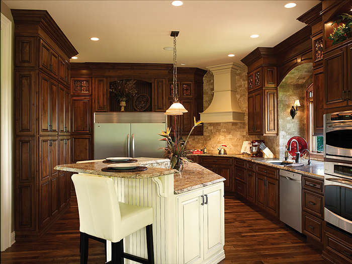 Shiloh Cabinetry Installed By James Martin Contractor Services Of Lake  County Ohio