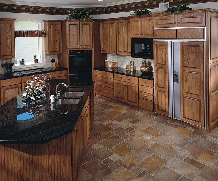 Shiloh Cabinetry installed by James Martin Contractor ...